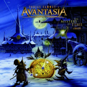 Avantasia - The Mystery Of Time - Artwork